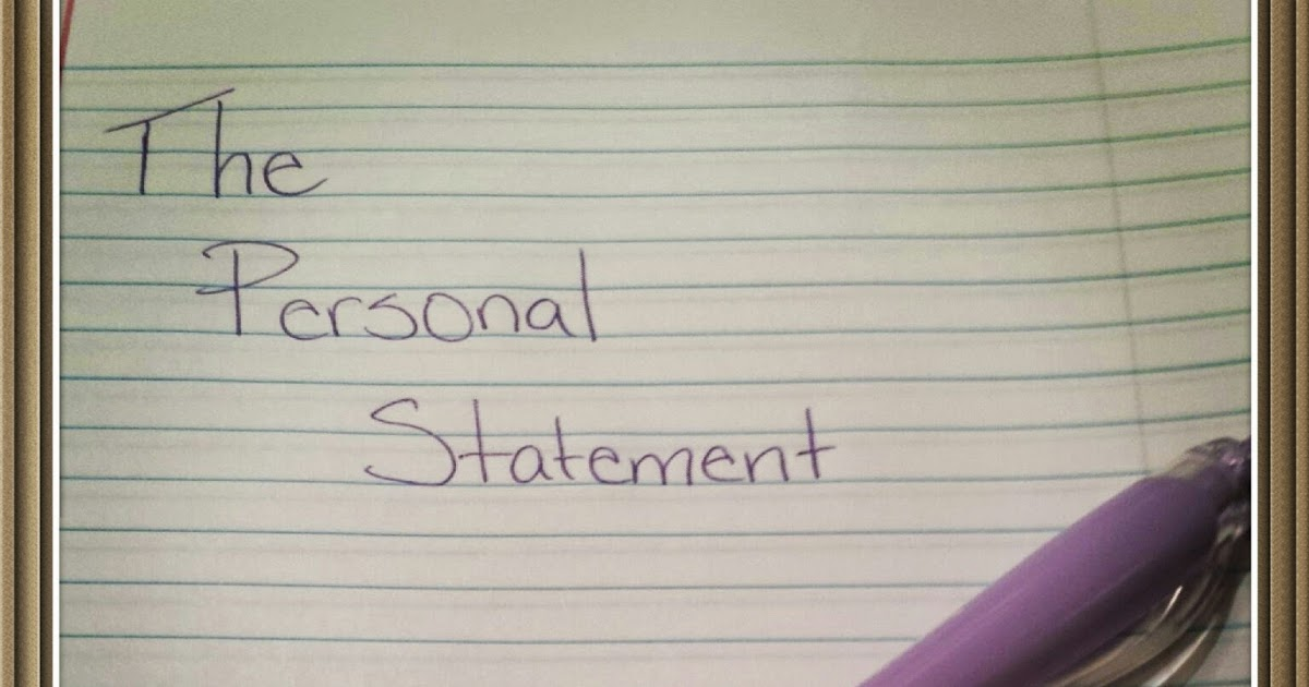 How Long Should a Personal Statement Be?